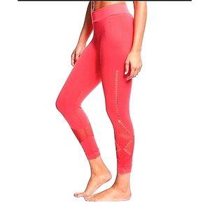 Nux Alana Yoga Compression Seamless Capri Leggings